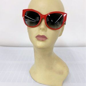Burberry B4294 Cat Eye Butterfly Sunglasses Red